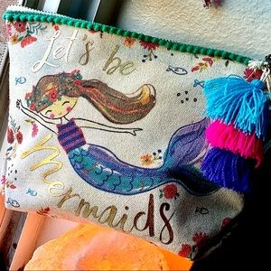 Natural Life 🌈Lets be Mermaids • Canvas Pouch